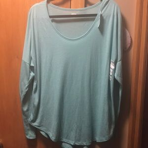 Old Navy Teal Long Sleeve T Shirt. Size XL NWT